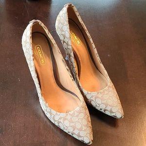 Coach heels
